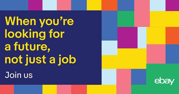Fancy working from the comfort of your own home? eBay are