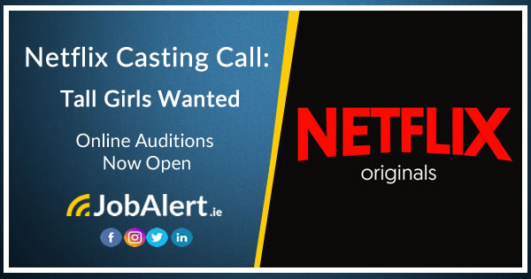 Netflix Casting Call: Tall Girl Wanted  Do you know a girl who is