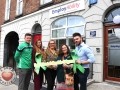 Pictured at the EmployAbility Limerick Office for the launch of the upcoming Green Ribbon campaign and 'Time to talk' day on Tuesday May 7th are Kevin Downes, Limerick Senior hurler, Meghann Scully, Mental Health Advocate, Ursula Mackenzie, EmployAbility Limerick, Amanda Clifford, A.B.C for Mental Health, and Patrick McLoughney, Social Media Influencer. Picture: Conor Owens/ilovelimerick.
